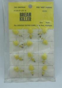 Arnold Bream Killer Yellow Original Classic Flies 12CT 23031