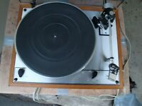 Thorens TD-165 Turntable w/ Sonus?, Sonic? cartridge, can't read - small letters