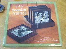 Hallmark Coaster Frames Rotate & Display Stand Wood