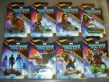 Hot Wheels Guardians of the Galaxy Vol 2. Diecast Vehicles - Full Set of 8 rare!