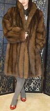 Final SALE! Russian sable fur coat,wonderful condition