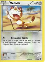 POKEMON GENERATIONS CARD - MEOWTH 53/83