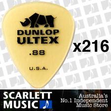 216 x Jim Dunlop Standard Ultex .88mm Picks Plectrums 88-ULT 421R *216 PICKS*