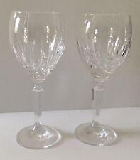 WATERFORD LISMORE CRYSTAL WINE GLASSES (SET OF 2)