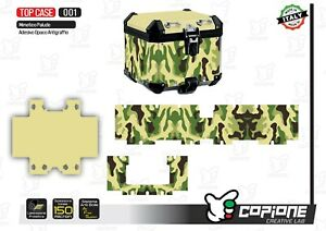Cover Total For All Types By Top Case/Bauletto Camo Green - 001
