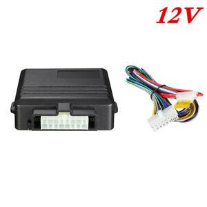 12V Car Power Window Roll Up Closer Security Alarm System Module Kit 4 Door ABS