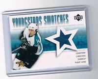 2004-05 Upper Deck YoungStars #YS-JC Jonathan Cheechoo NM-MT