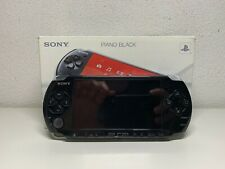 Sony PSP Play Station Portable 3000 + Three batteries & Manual (NOT CHARGING)