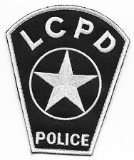 TJ HOOKER TV Show LCPD Police PATCH William Shatner Heather Locklear Zmed Darren