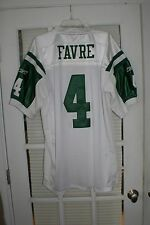 Reebok NFL Equipment Premium Sewn Jersey New York Jets Favre #4 White - Size 52