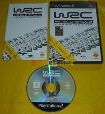 WRC WORLD RALLY CHAMPIONSHIP 1 Ps2 Versione Italiana 1ª Edizione »»»»» COMPLETO