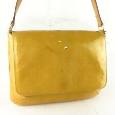 Auth LOUIS VUITTON THOMPSON STREET Shoulder Bag Purse Monogram Vernis M91008