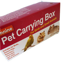 Pennine Cardboard Carrying Transporting Box  Birds Hamster Mice Gerbil Small
