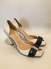 Mesdames GAIA D'ESTE Block Talons Hauts Chaussures Taille UK7 EU40