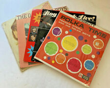Lot of 5 Vintage Country Record Albums LP: Roy Clark, Tanya Tucker, etc.