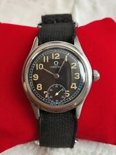 Vintage Omega Military Fabulous Suisse 26.5 T3 Hand Winding S.Steel Men's Watch