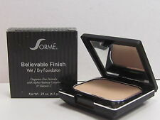 Sorme Believable Finish Wet / Dry Foundation Soft Ivory 402 Complete 0.23 oz