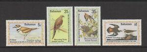 Bahamas - 1985, J Audubon, Birds set - MNH - SG 708/11