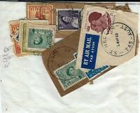 A selection of Tasmania - Austalian stamps with postmarks