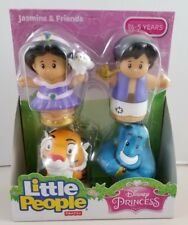 New Fisher-Price Disney Princess Jasmine & Friends Buddy Pack Little People Rare