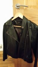 Black Womens Leather Jacket (new)