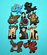 How To Train Your Dragon Shoe Decorations 10 Cupcake Toppers Party Favours NEW