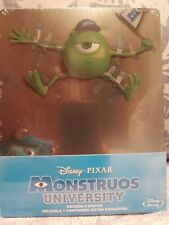 Monstruos university precintada steelbook caja metálica bluray 2 discos