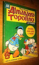 ALMANACCO TOPOLINO - 1968- #  9 - SETTEMBRE - MONDADORI - no bollino
