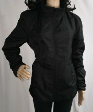 Ben Stone Black Jacket Small Sexy Fleece Lined Mid-Weight Spring Coat Women's