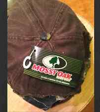Mossy Oak Break Out Distressed Cap / Hat Brown and Mossy Oak Camo Free Shipping