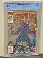 GUARDIANS of the GALAXY #25 9.8  SILVER PRISM Cover Marvel Comics 1992 CGC <CBCS
