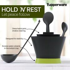 Brand New Tupperware Kitchen Tool Set-hold N Rest- Ladle- Stir N Serve (2 Pc)