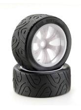 Ruote, cerchi e pneumatici bianchi per modellini radiocomandati 1:8