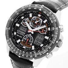 Citizen Skyhawk ECO-DRIVE RADIO Pilota GMT Solare Allarme Cronografo jy0020-64e