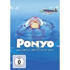 PONYO - DAS GROSSE ABENTEUER AM MEER DVD NEU