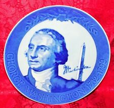 MARMOT PRESIDENT SERIES BLUE PLATE GEORGE WASHINGTON FIRST ISSUE Lt Ed GERMANY