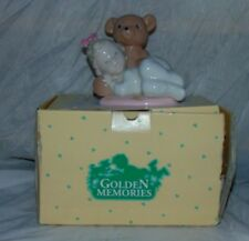 "1993 Lladro Golden Memories Girl ""Teddy Bear Dreams"" 04025 Figure Figurine"