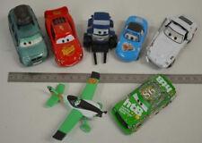 6 ) Disney Pixar Cars Set 7 verschiedene Cars Autos - Flugzeug aus Metall