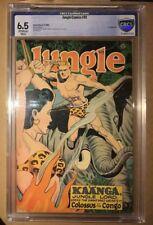 Jungle Comics #81 (Fiction House, 1946) CBCS 6.5 Not CGC GGA Bondage Headlights