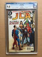CGC Comic graded 9.8 DC JLA Justice league of America  #100 Key film