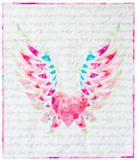 "MODA Digital Quilt Kit ~ SPREAD YOUR WINGS BABY QUILT ~ Finished: 36"" x 40"""