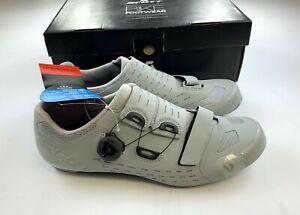 Scott Road Premium Carbon Cycling Shoes Matte Grey 44 EU / 10 US New in Box