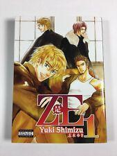 ZE Vol 1 Yuki Shimizu English Yaoi Manga book-Excellent Cond