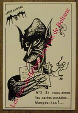 Carte postale Vampire,émbé , Le Bris 100 ex.CPSM