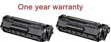 2 Black ink toner cartridge 104 for Canon imageClass MF4690 Cannon laser printer