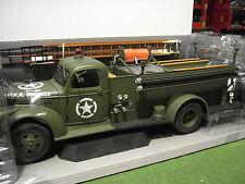 CHEVROLET AUTOBOMBA camión DE bomberos 1941 1/16 no 1/18 HIGHWAY 61 50187