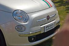 FIAT 500 2007 -> MODANATURA PARAURTI BAFFO LATO DESTRO CROMATO