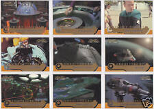 STAR TREK VOYAGER CLOSER TO HOME CTH ADVANCED TECHNOLOGY INSERT SET AT1-AT9 (9)
