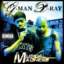 Musical Madness [PA] by G-Man & D-Ray cd SEALED
