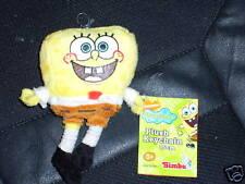 SpongeBob Schwammkopf * ORIGINAL * 15cm neu Karabiner Schlüsselanhänger Plüsch